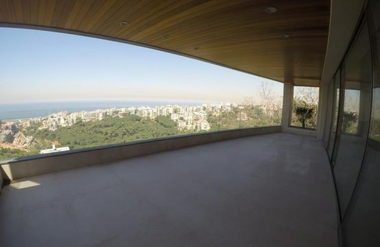 Panoramic View Apartment for rent in Rabieh FC8080