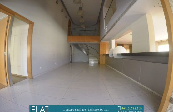 Full specification show room for rent in Dbayeh FC9163