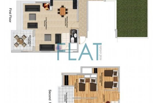 Duplex for sale in Faqra FC9251