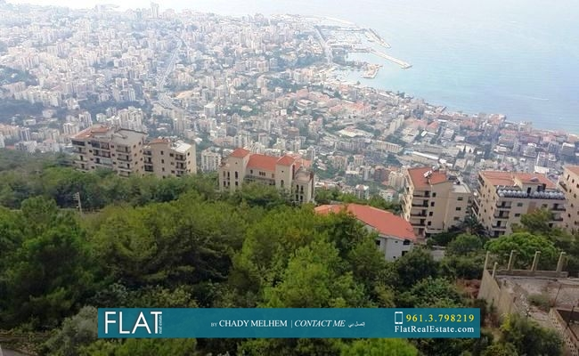 Panoramic View Furnished Duplex for Sale in Daroun Harissa with Terrace FS8001