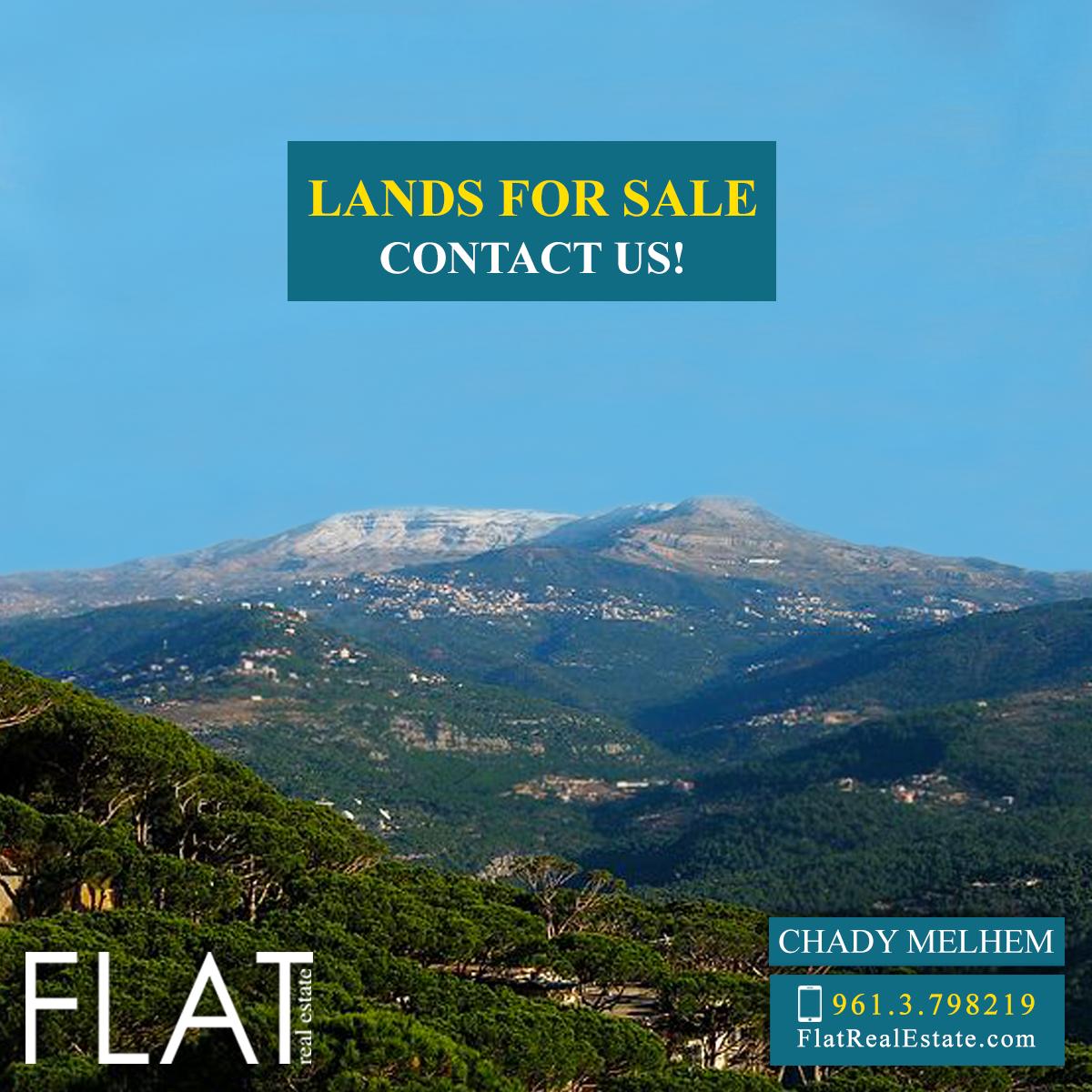 Land for sale in Kfardebian FC9183
